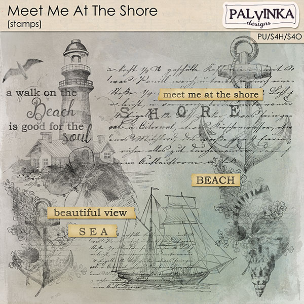 Meet Me At The Shore Stamps and WA