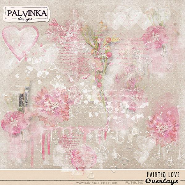 Painted Love Overlays