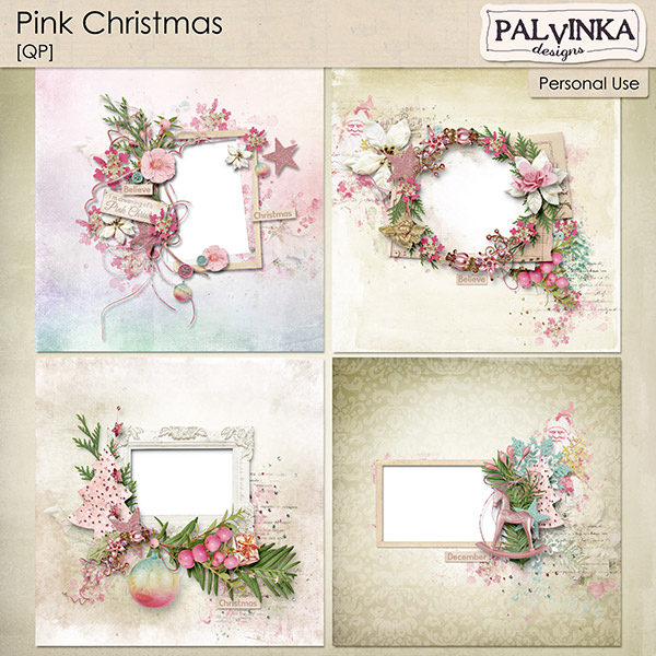 Pink Christmas QP