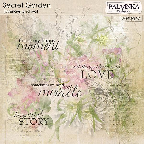 Secret Garden Overlays and WA