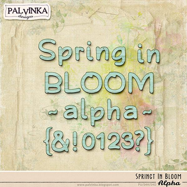 Spring In Bloom Alpha