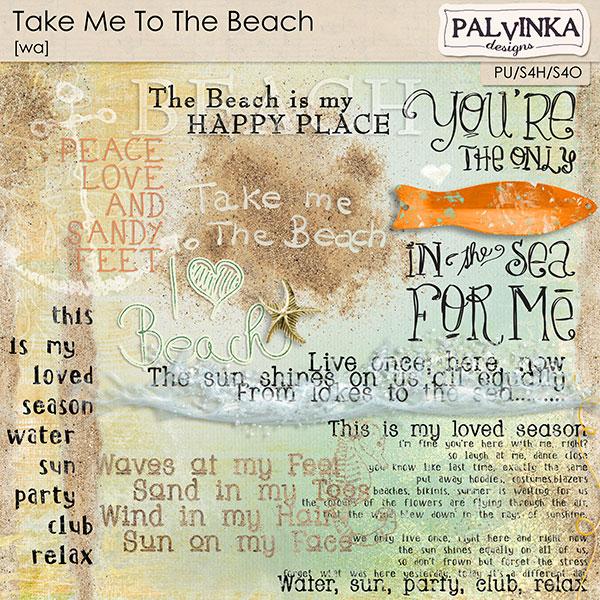 Take Me To The Beach WA