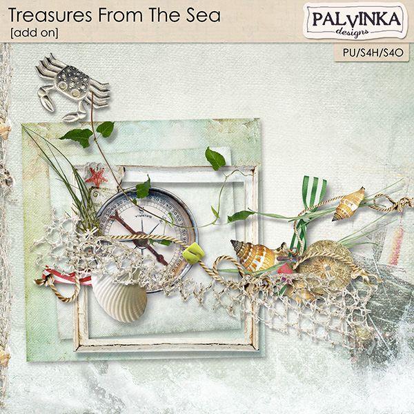 Treasures From The Sea Add On