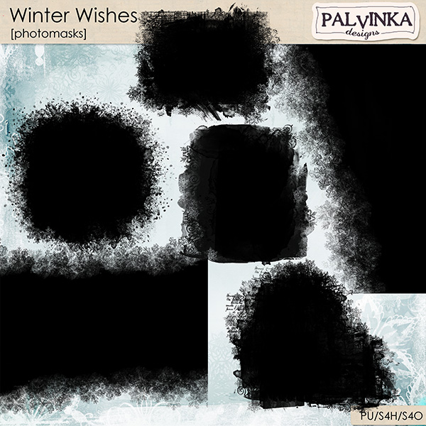 Winter Wishes Photomasks