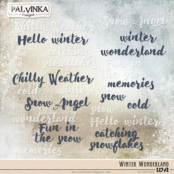 Winter Wonderland WA