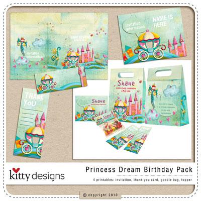 Princess Dream Birthday Pack
