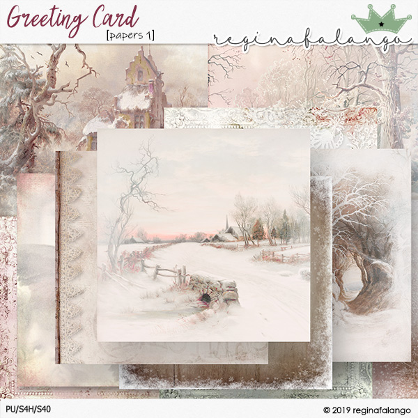 GREETING CARD PAPERS 1