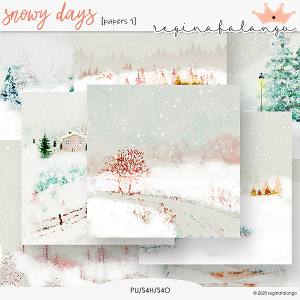 SNOWY DAYS PAPERS 1