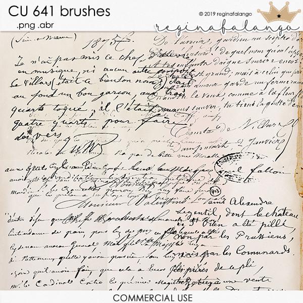 CU 641 BRUSHES