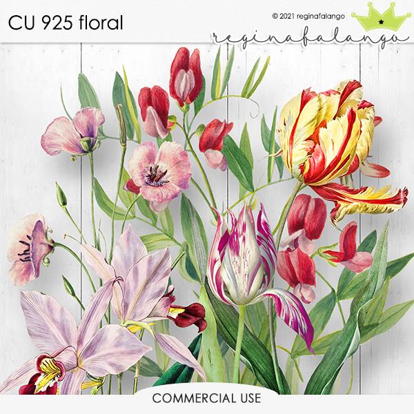 CU 925 FLORAL