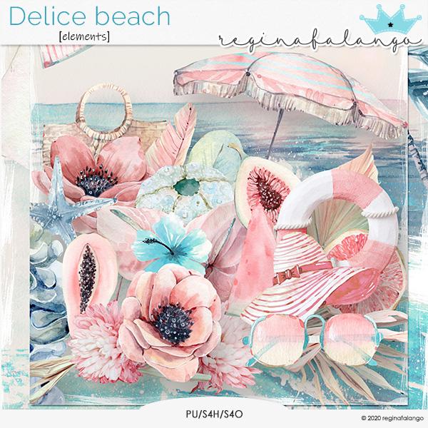 DELICE BEACH ELEMENTS
