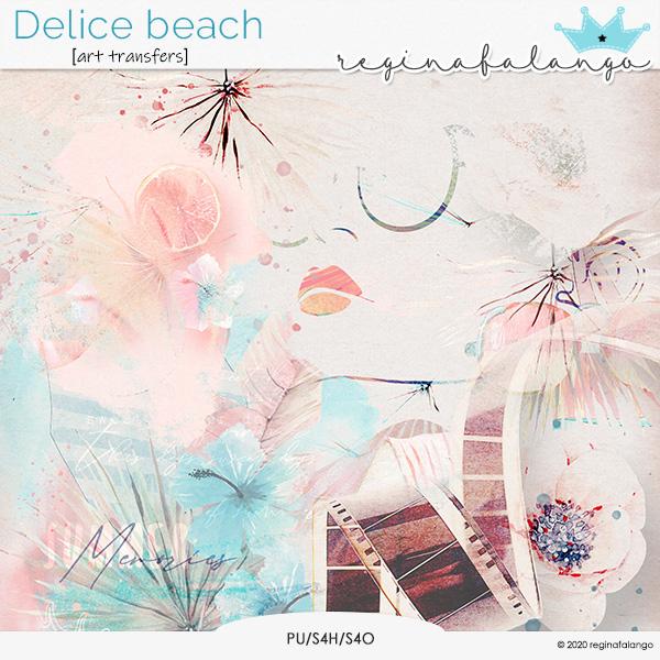 DELICE BEACH ART TRANSFERTS