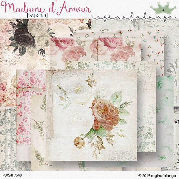 MADAME D' AMOUR PAPERS 1