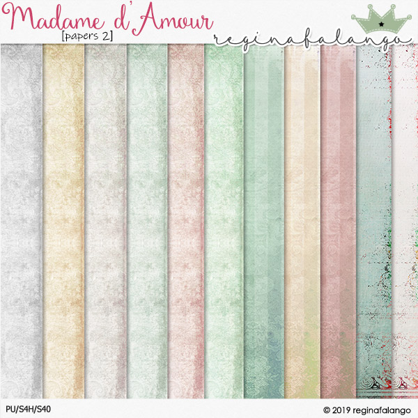 MADAME D' AMOUR PAPERS 2