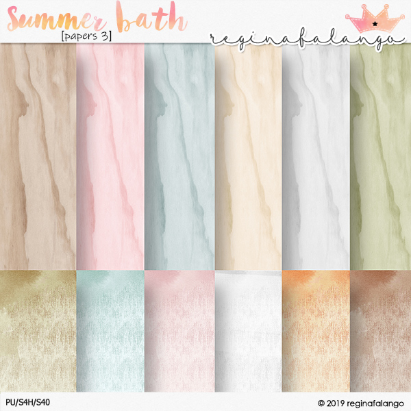 SUMMER BATH PAPERS 3
