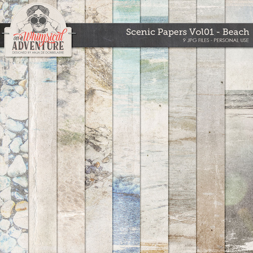 Scenic Papers Vol01 Beach