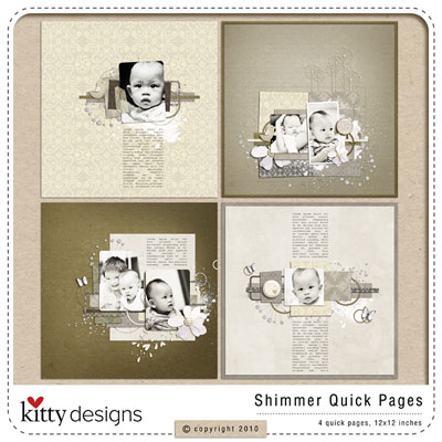 Shimmer Quick Pages