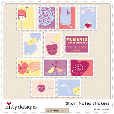 Short Notes Stickers