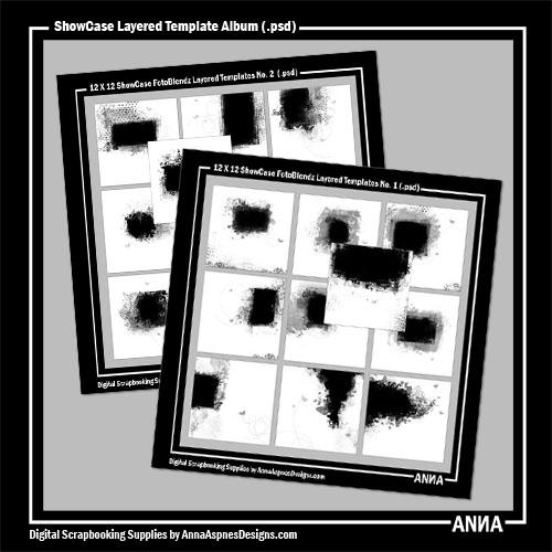 ShowCase Layered Template Album