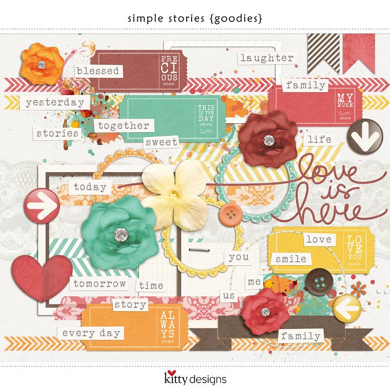 Simple Stories {Goodies}