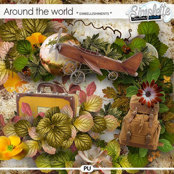 Around the World (embellishments)