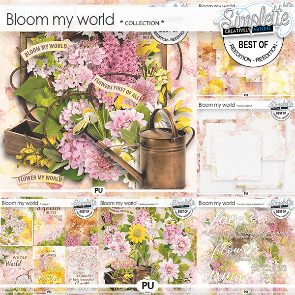 Bloom my world (collection) by Simplette
