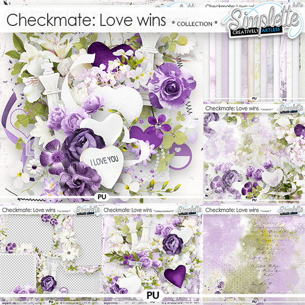 Checkmate : Love wins (collection) by Simplette