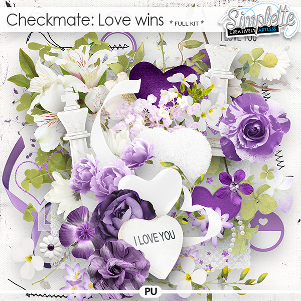 Checkmate : Love wins (full kit) by Simplette
