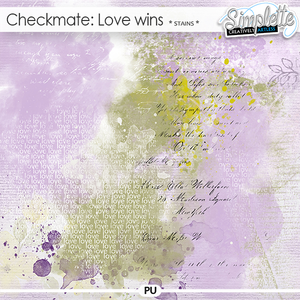 Checkmate : Love wins (stains) by Simplette
