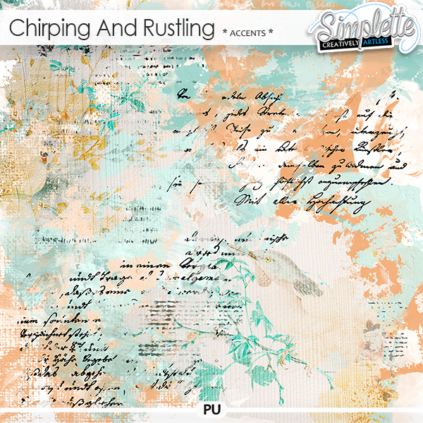 Chirping and Rustling (accents) by Simplette