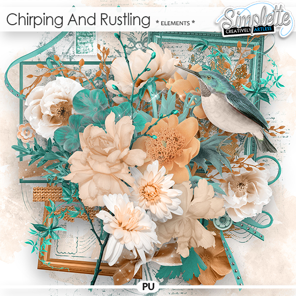 Chirping and Rustling (elements) by Simplette