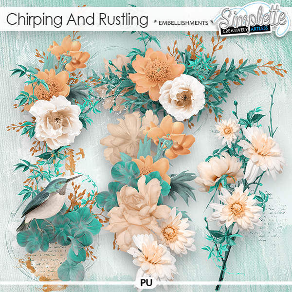 Chirping and Rustling (embellishments) by Simplette