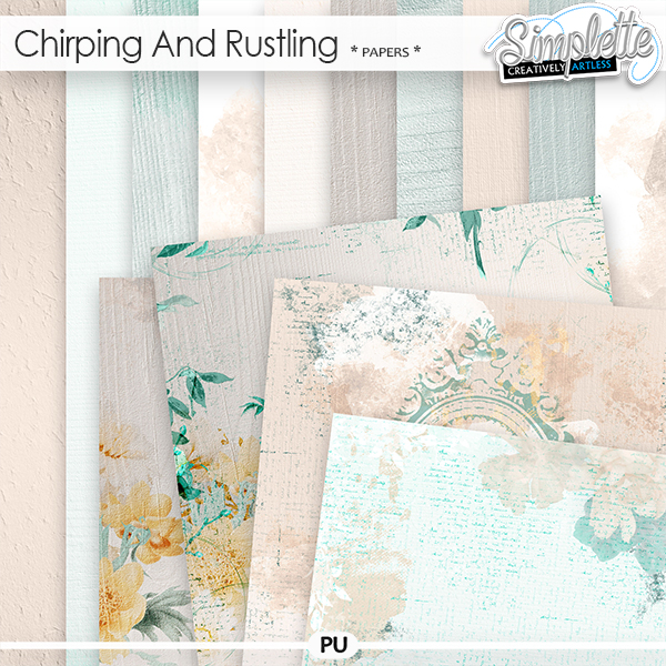 Chirping and Rustling (papers) by Simplette