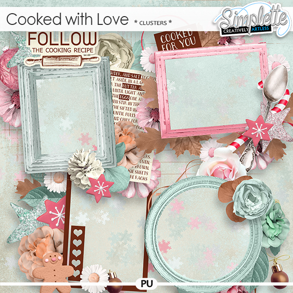 Cooked with Love (clusters) by Simplette