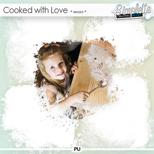 Cooked with Love (masks) by Simplette