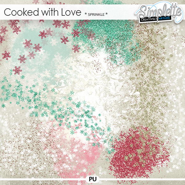 Cooked with Love (sprinkle) by Simplette