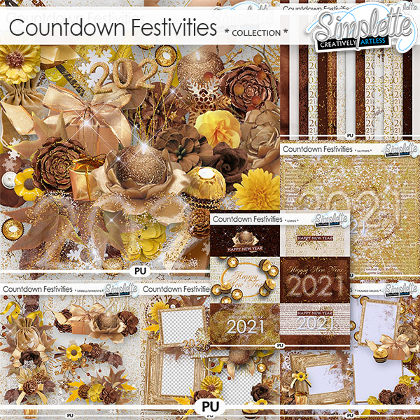 Countdown Festivities (collection) by Simplette