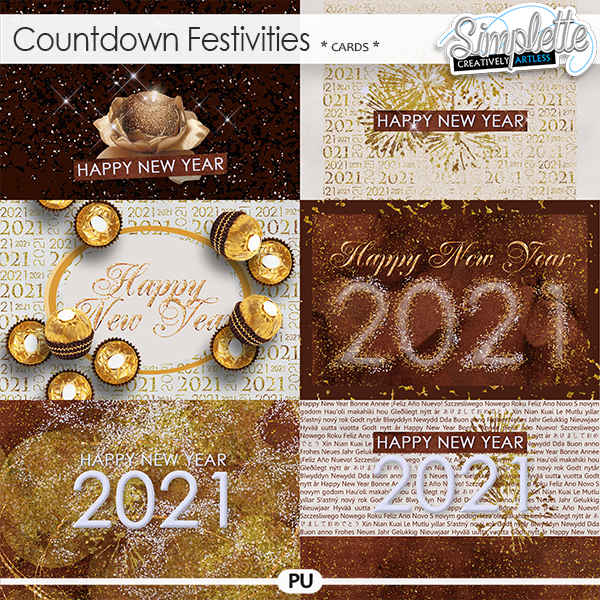 Countdown Festivities (cards) by Simplette