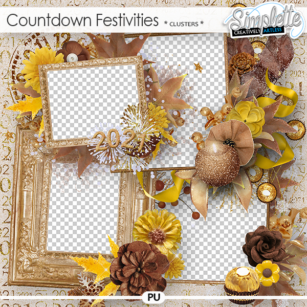 Countdown Festivities (clusters) by Simplette