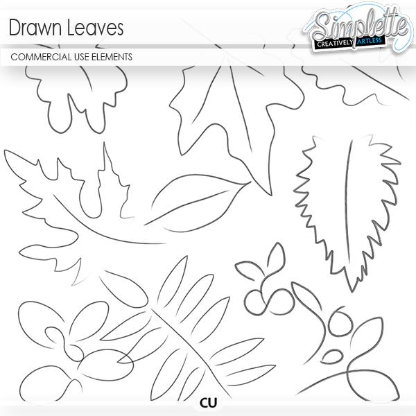 Drawn Leaves (CU elements)