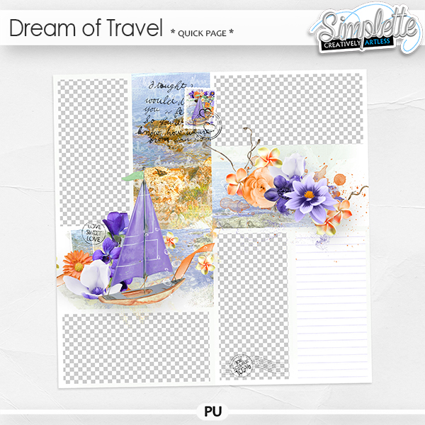 Dream of Travel (quick page)