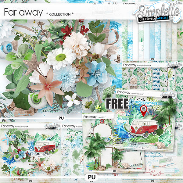 Far Away (collection with addon elements FREE)