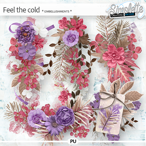 Feel the Cold (embellishments) by Simplette