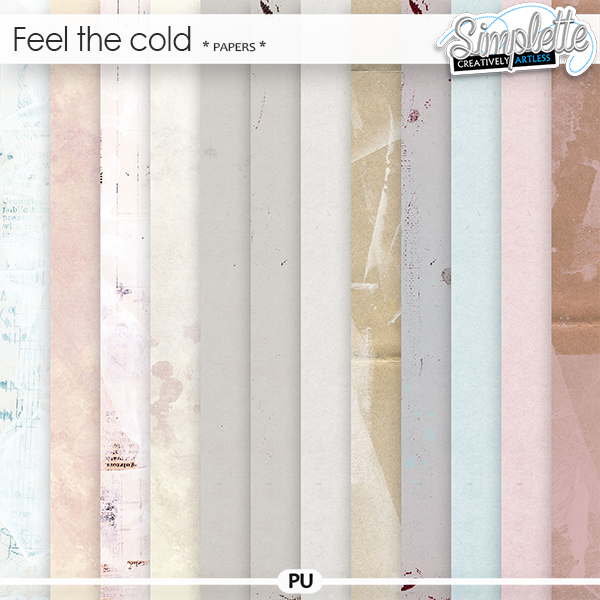 Feel the Cold (papers) by Simplette