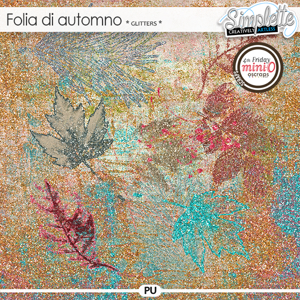 Folia di Automno (glitters) by Simplette