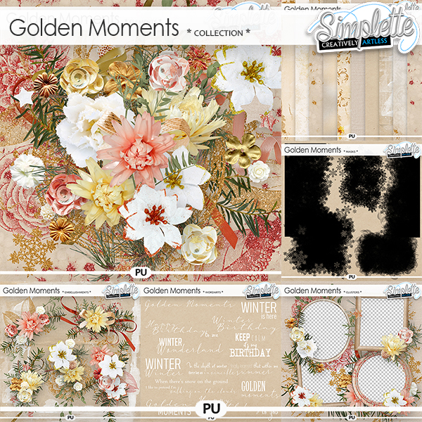 Golden Moments (collection) by Simplette