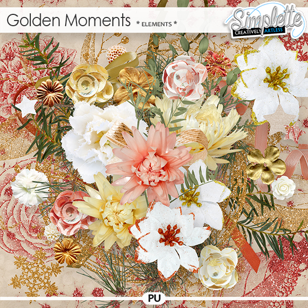 Golden Moments (elements) by Simplette
