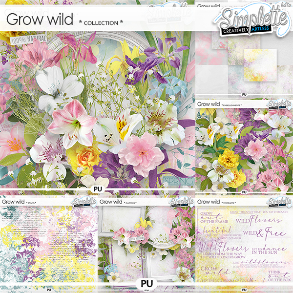 Grow wild (collection) by Simplette