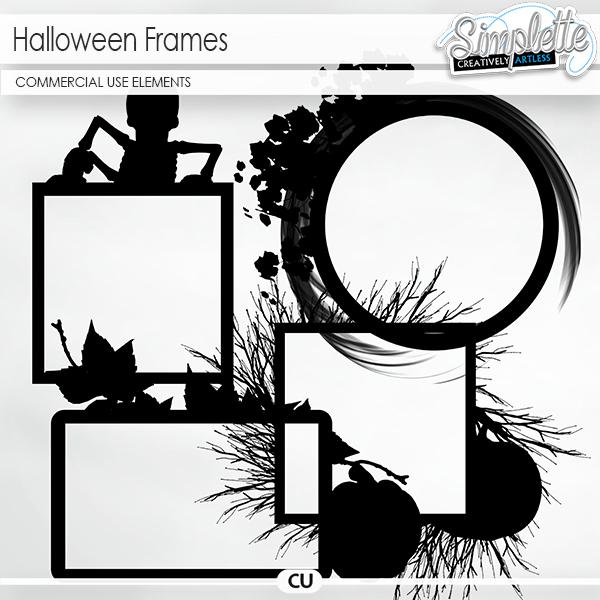 Halloween Frames (CU elements)
