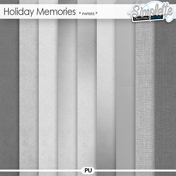 Holiday Memories (papers)